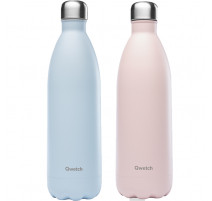 Bouteille isotherme Pastel 1 L, Qwetch