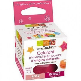 Colorant alimentaire naturel rouge, ScrapCooking,