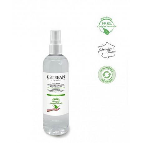 Solution hydro-alcoolique rechargeable, Esteban