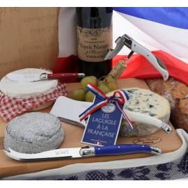 """Coffret 3 pièces fromage """"Les laguiole à la Française"""", Jean Dubost Pradel"""