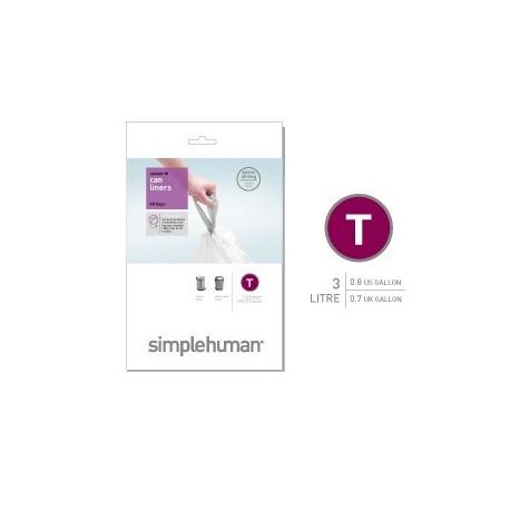 Sacs poubelle 3L-T, Simplehuman