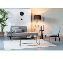 Une chaise Spike grise, Zuiver