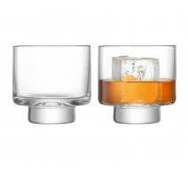 2 verres à whisky Métropole, LSA International