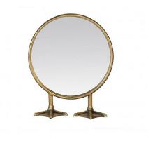 Miroir sur pied rond Pattes de canard, Emde