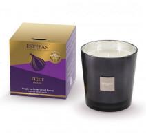 Bougie parfumée 450 gr Figue Noire, Esteban