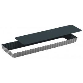 Moule à tarte anti-adhérent Obsidian rectangle, Gobel