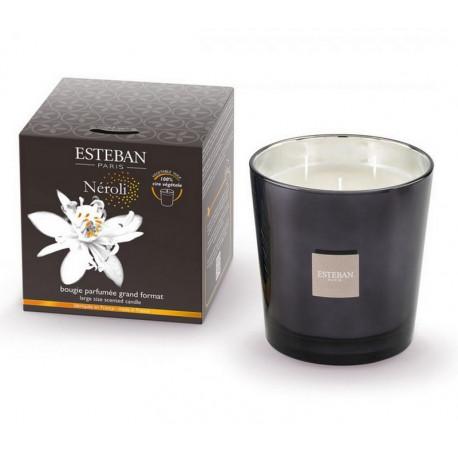 Bougie parfumée 450 gr Néroli, Esteban