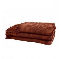 Linge de toilette Sumatra Brick, Harmony Textile