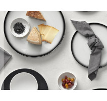 Service vaisselle Caviar Granite, Maxwell & Williams