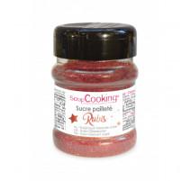 Sucre pailleté Rubis, ScrapCooking