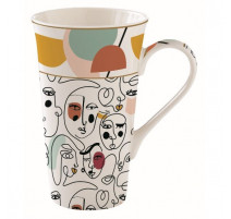 Mug 60cl Modernism, Easy Life