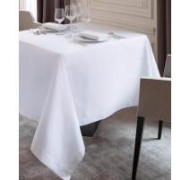 Nappe 175 cm Granite blanc, Le Jacquard Français