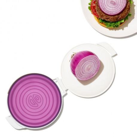 Protection en silicone pour oignon coupé, Oxo