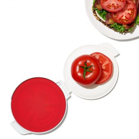 Protection en silicone pour tomate coupée, Oxo