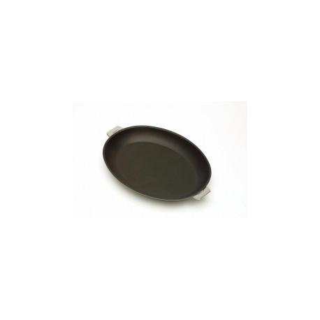 Poêle ovale 35cm amovible anti adhérent Mutine, Cristel