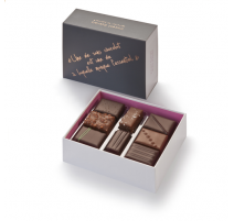 Coffret de mignardises 16 chocolats, Vincent Guerlais