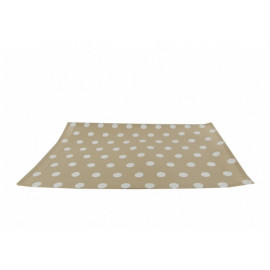 Set de table pois beige en PVC, Siba