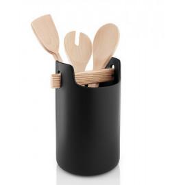 Pot de rangement céramique Noir, Eva Solo