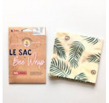 Bee Wrap emballage réutilisable XL Tropical, Anotherway