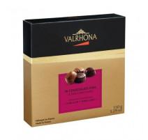 Coffret 16 chocolats fins noir & lait, Valrhona