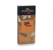Orangettes chocolat noir, Valrhona