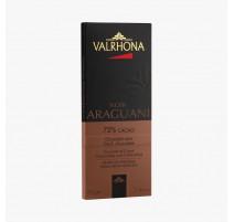 Tablette chocolat noir Araguani 72%, Valrhona