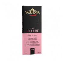 Tablette chocolat lait Bahibé 46%, Valrhona