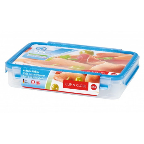 Boîte rectangulaire à jambon 1.65L Clip & Close