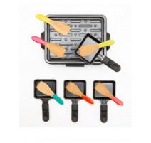 Lot de 6 spatules raclette Pebbly