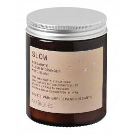 Bougie parfumée SLOW, Fariboles