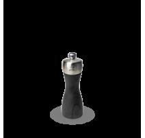 Moulin à sel manuel Graphite Fidji bois et inox 15 cm, Peugeot