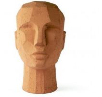 Sculpture tête abstraite, HK Living