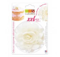 Fleur azyme blanche XXL, ScrapCooking