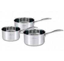 Série 3 casseroles Chef 16/18/20, Beka