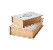 2 livres boîte secrète Brooke Nature, Affari