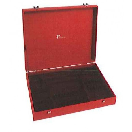 ecrin rouge 49 pi ces acier guy degrenne. Black Bedroom Furniture Sets. Home Design Ideas