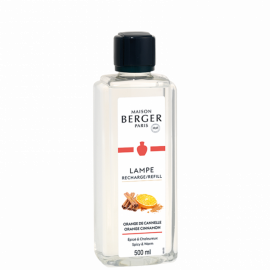 Parfum Orange de cannelle 500 ml Maison Berger