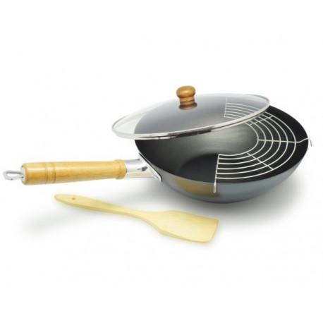 Set wok GUO, Aubecq