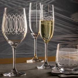 Coffret de 6 flûtes à champagne Casella, Léonardo