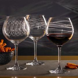 Coffret de 6 verres à Bourgogne Casella, Léonardo