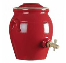 Vinaigrier en grès 4L, Manufacture de Digoin
