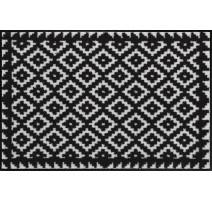 Tapis 50x75cm Tabuk black&white, Salonloewe Efia