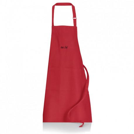 Tablier Petit Chef rouge, Winkler