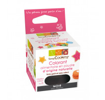 Colorant alimentaire naturel noir, ScrapCooking