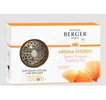 Diffuseur de parfum voiture Aroma Energy, Maison Berger