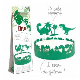 Déco gâteau Dino, ScrapCooking