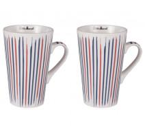 Coffret 4 mugs 46 cl Multico, Little Marcel