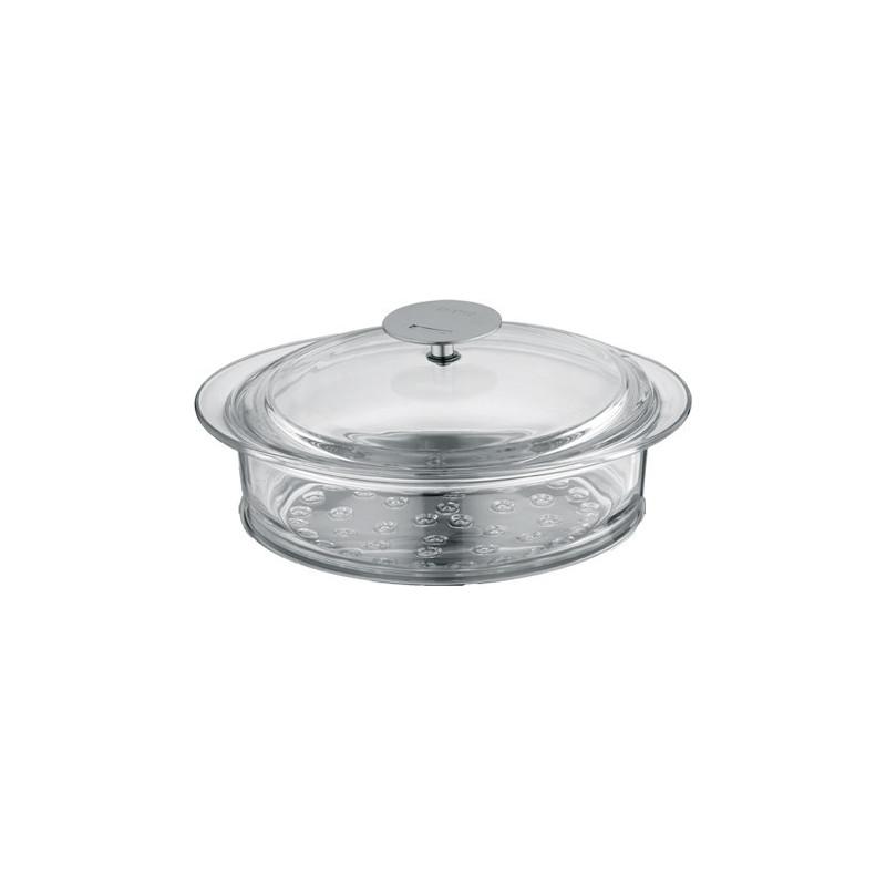 vente achat cuit vapeur en verre 24cm cristel vapeur les sp cialit s cuisson. Black Bedroom Furniture Sets. Home Design Ideas