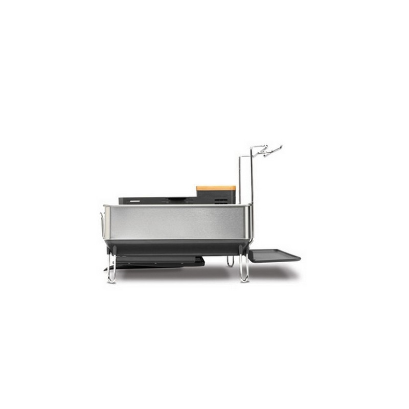 achat gouttoir vaisselle acier avec support simplehuman. Black Bedroom Furniture Sets. Home Design Ideas