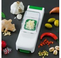 Mini coupe légumes Alligator avec collecteur